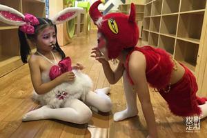 儿童彩绘化妆