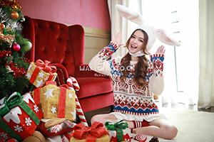 圣诞主题拍摄,摄影师深圳全程拍摄
