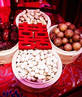 中式婚礼布置场景