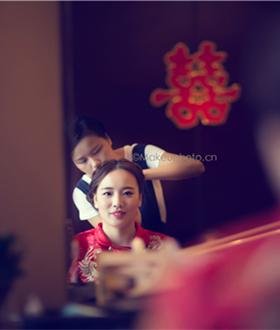 中式新娘-全天跟妆